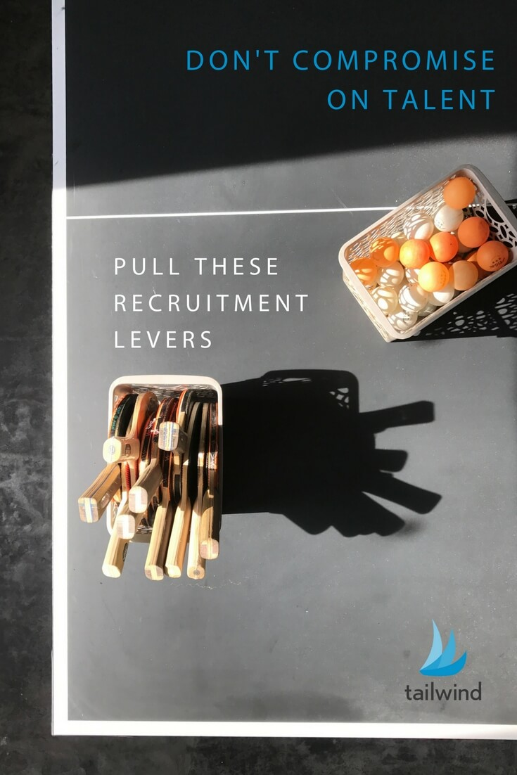 Don't Compromise on TalentPull These Recruitment Levers